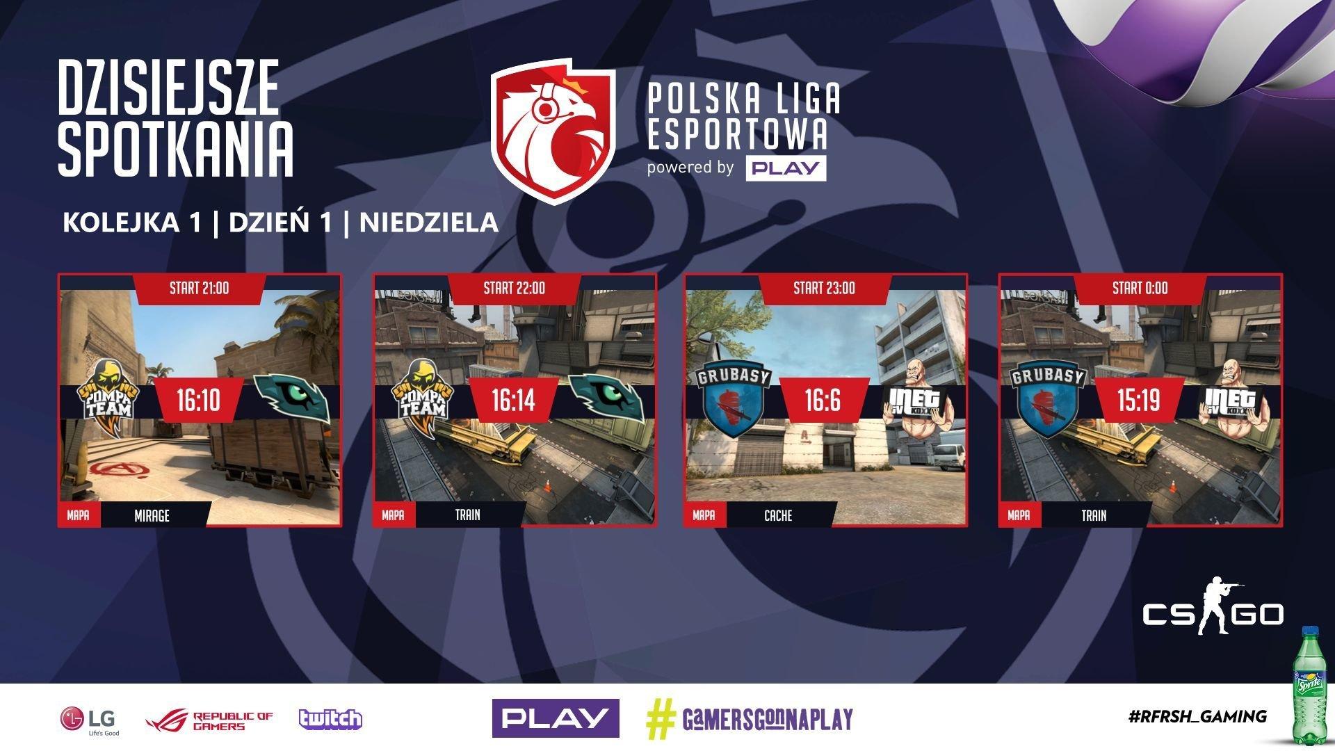 Rusza sezon zasadniczy Polskiej Ligii Esportowej