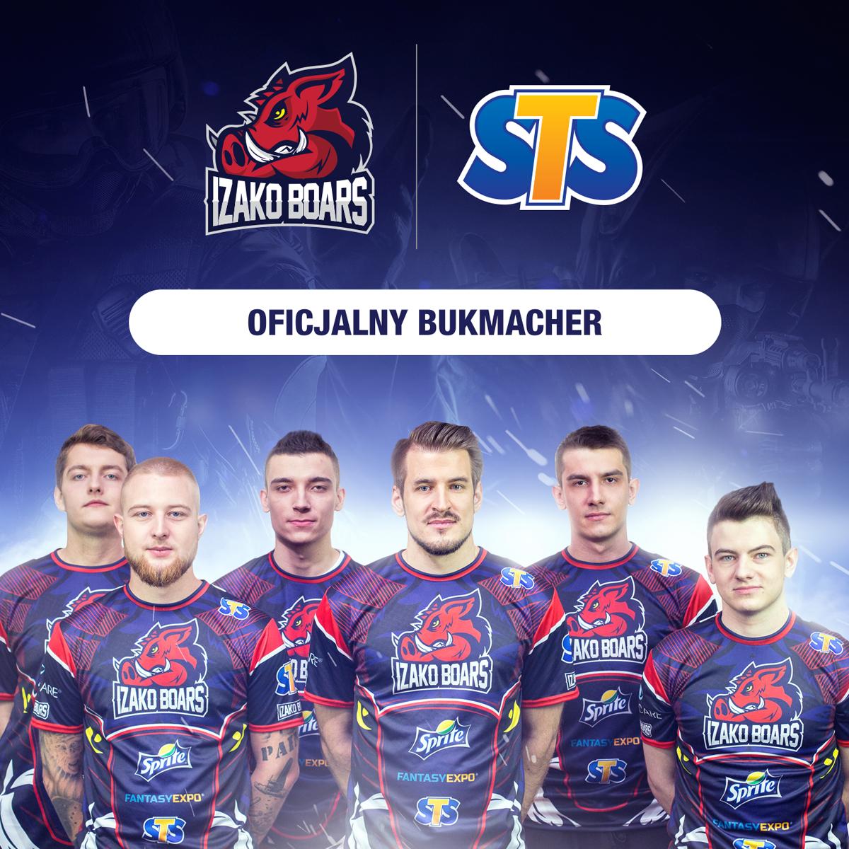 STS pierwszym w Polsce oficjalnym bukmacherem drużyny e-sportowej