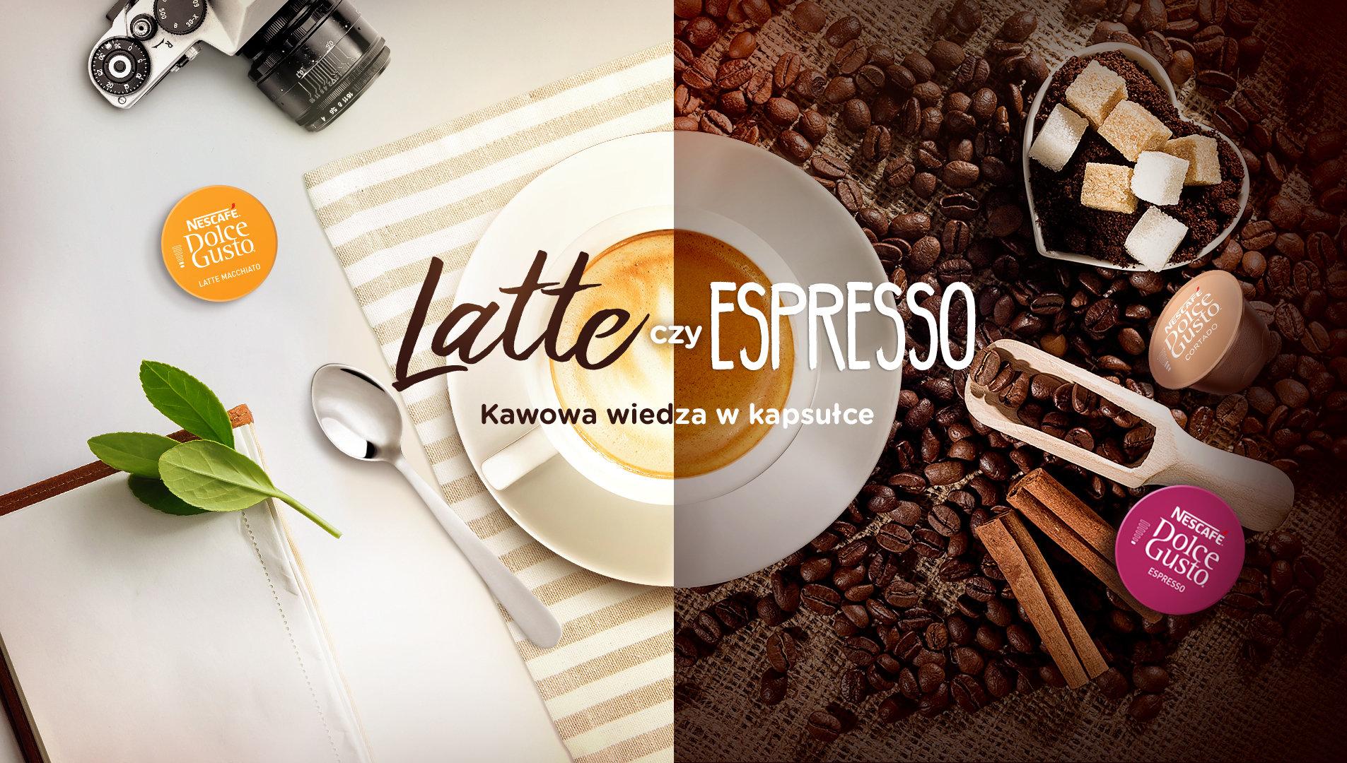 Hand Made odkrywa różne oblicza kawy z NESCAFÉ® Dolce Gusto®