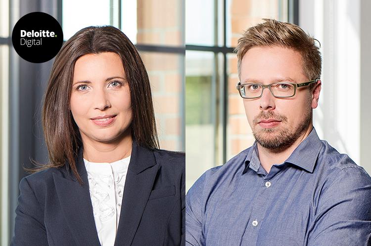 Monika Salamon i Andrzej Krok na czele agencyjnego zespołu klienckiego  w Deloitte Digital