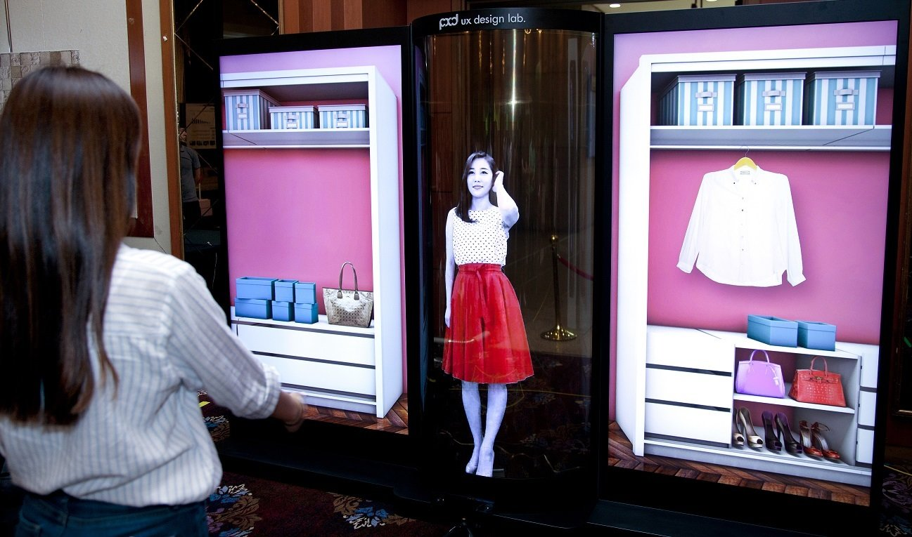LG Display prezentuje 77-calowy wyświetlacz OLED - przezroczysty i elastyczny