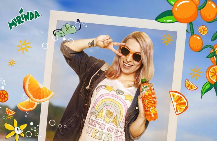 Rozpoczęła się internetowa komunikacja marki Mirinda z udziałem influencerki Agi Grzelak