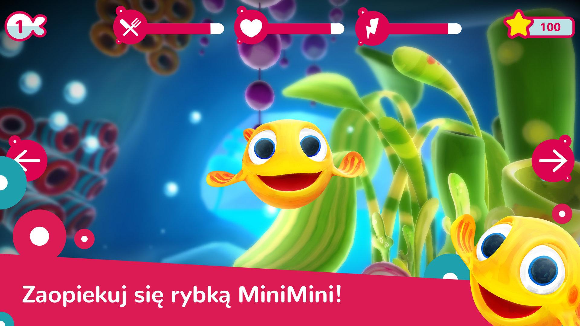Wspólnie z Rybką MiniMini zanurz się w oceanie zabaw – startuje nowa aplikacja mobilna dla najmłodszych!