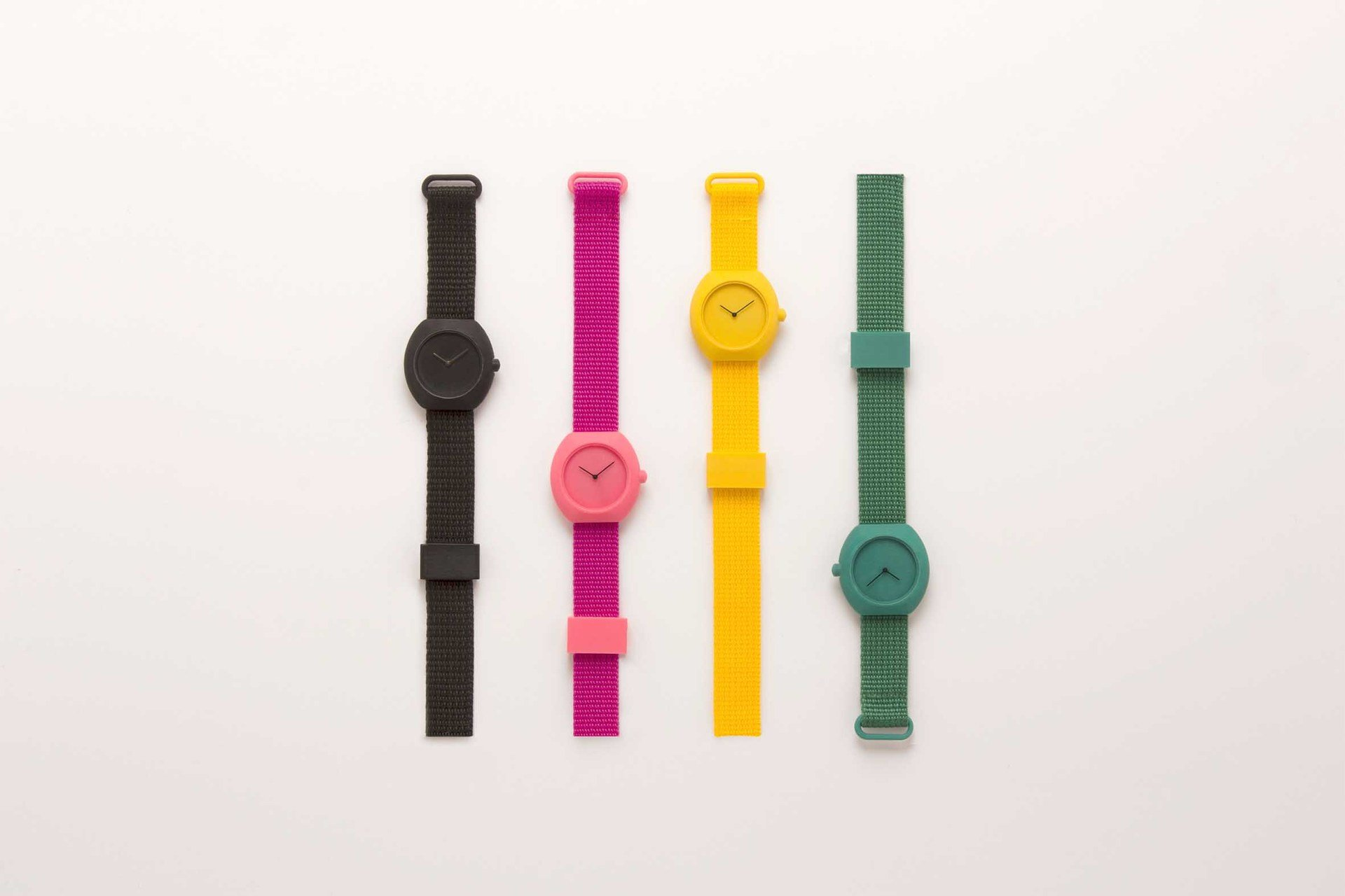 Design studio Notaroberto-Boldrini presents a collection of 3D watches printed on Zortrax m200