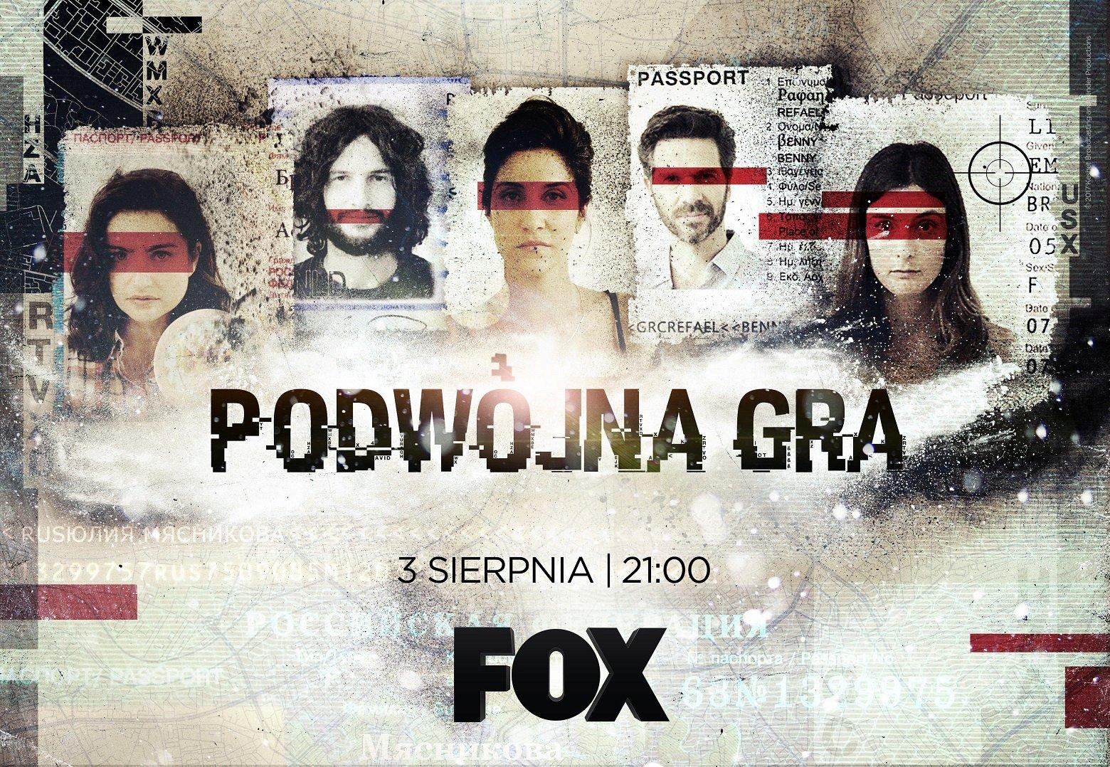 Niewinni obywatele, czy ukryci szpiedzy? PODWÓJNA GRA już w czwartek 3 sierpnia tylko na FOX!