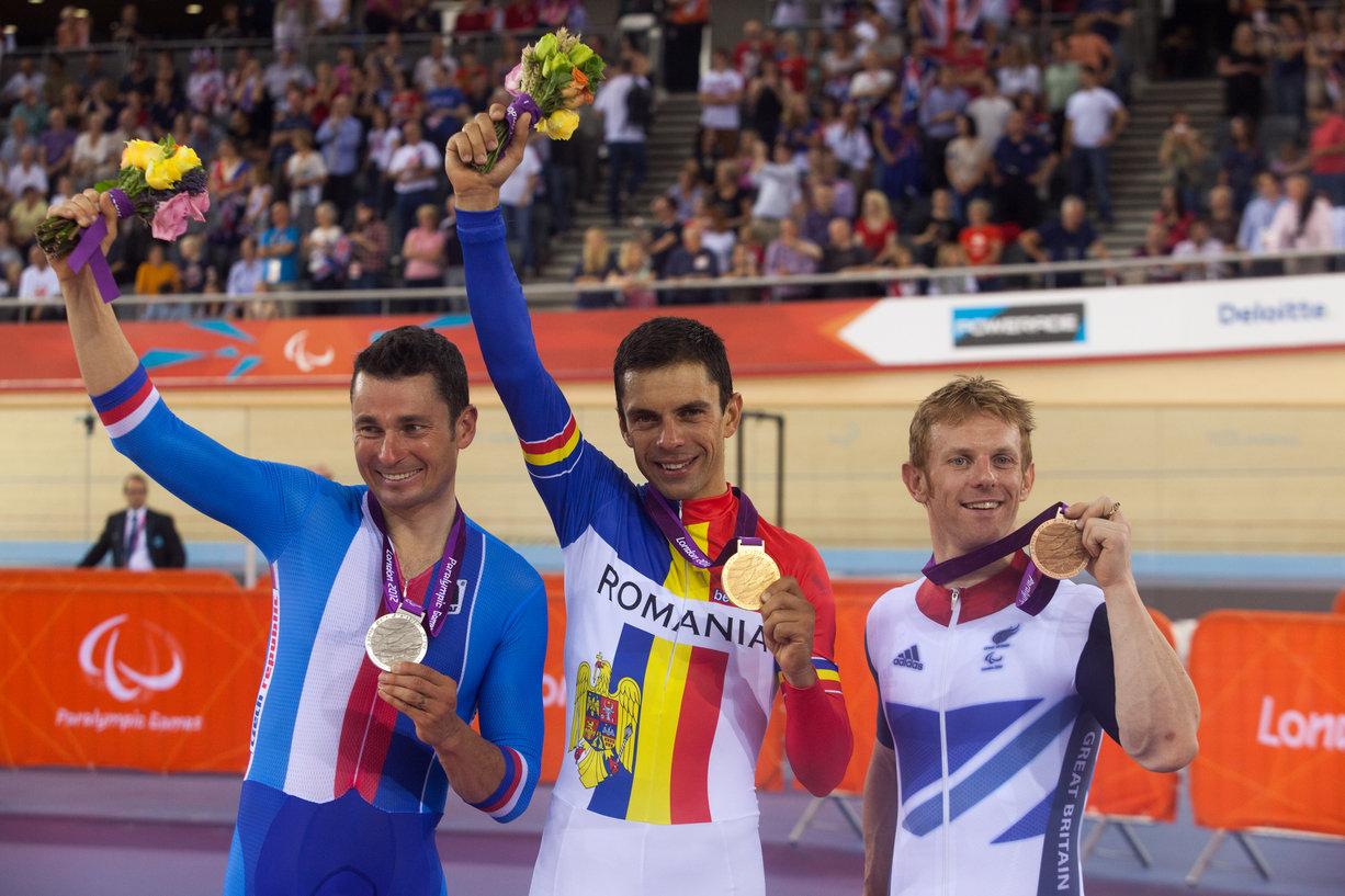 Eduard Novak, singurul campion paralimpic al Romaniei, va da startul Maratonului Olteniei