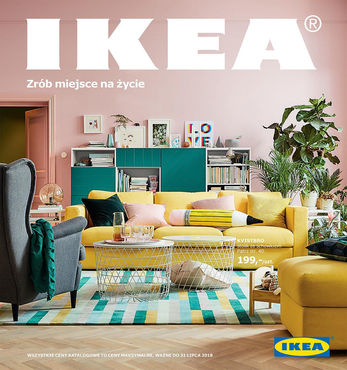 Życie to zmiany, zrób na nie miejsce.  Nowy Katalog IKEA 2018 inspiruje do zmian w domu.