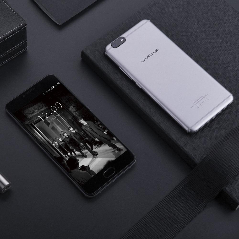 UMIDIGI C Note  – zapas energii w aluminiowej obudowie