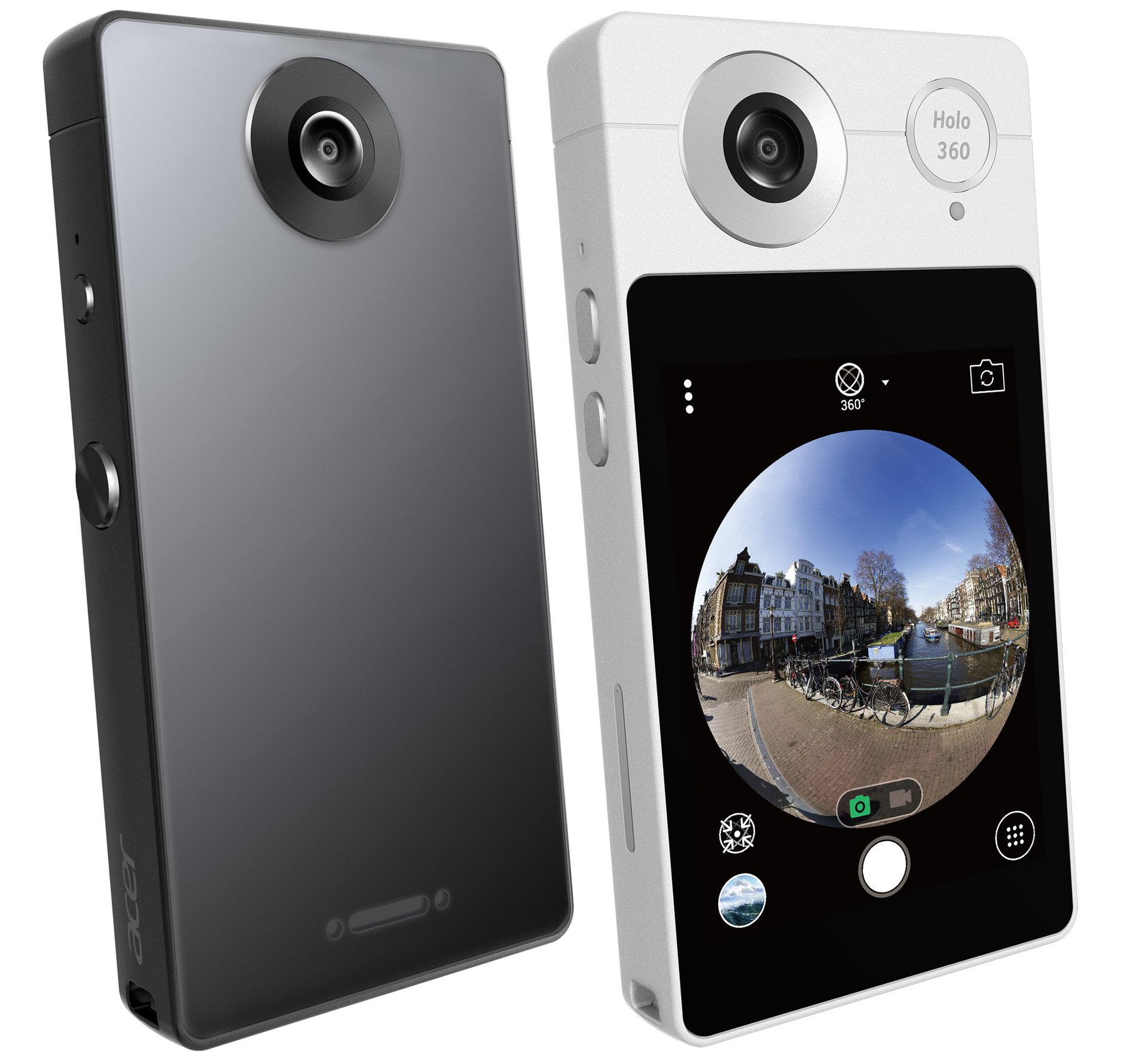 Acer przestawił dwie kamery 360° z modemem LTE