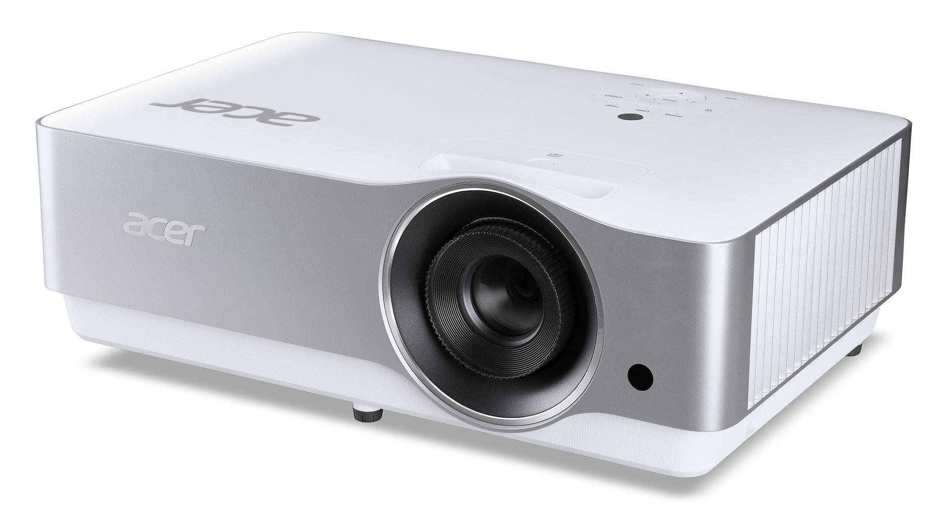 Acer przedstawia dwa nowe projektory: VL7860 do użytku domowego oraz P8800 dla profesjonalistów