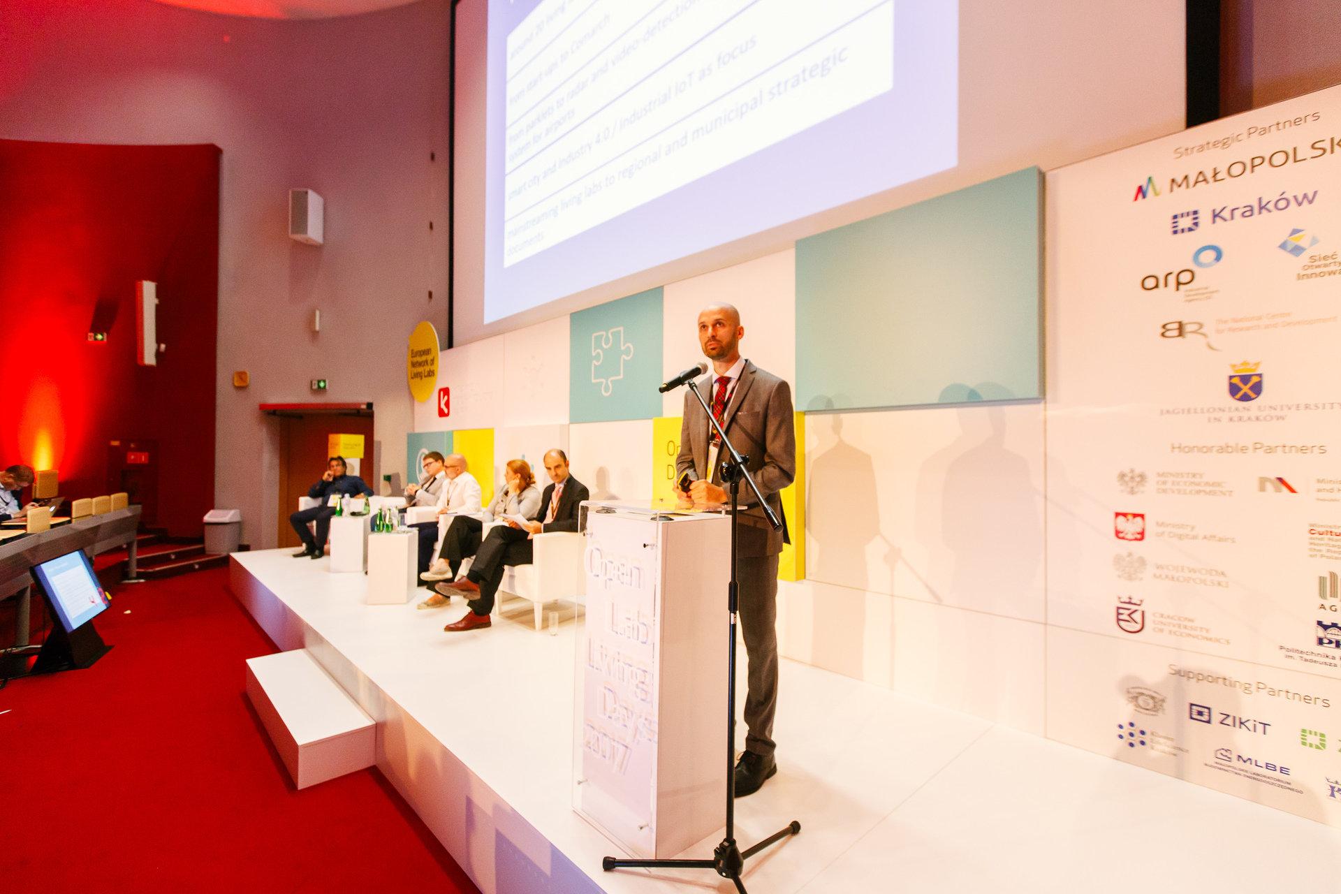 Sukces konferencji OpenLivingLab Days 2017  – promocja Krakowa i KPT na świecie