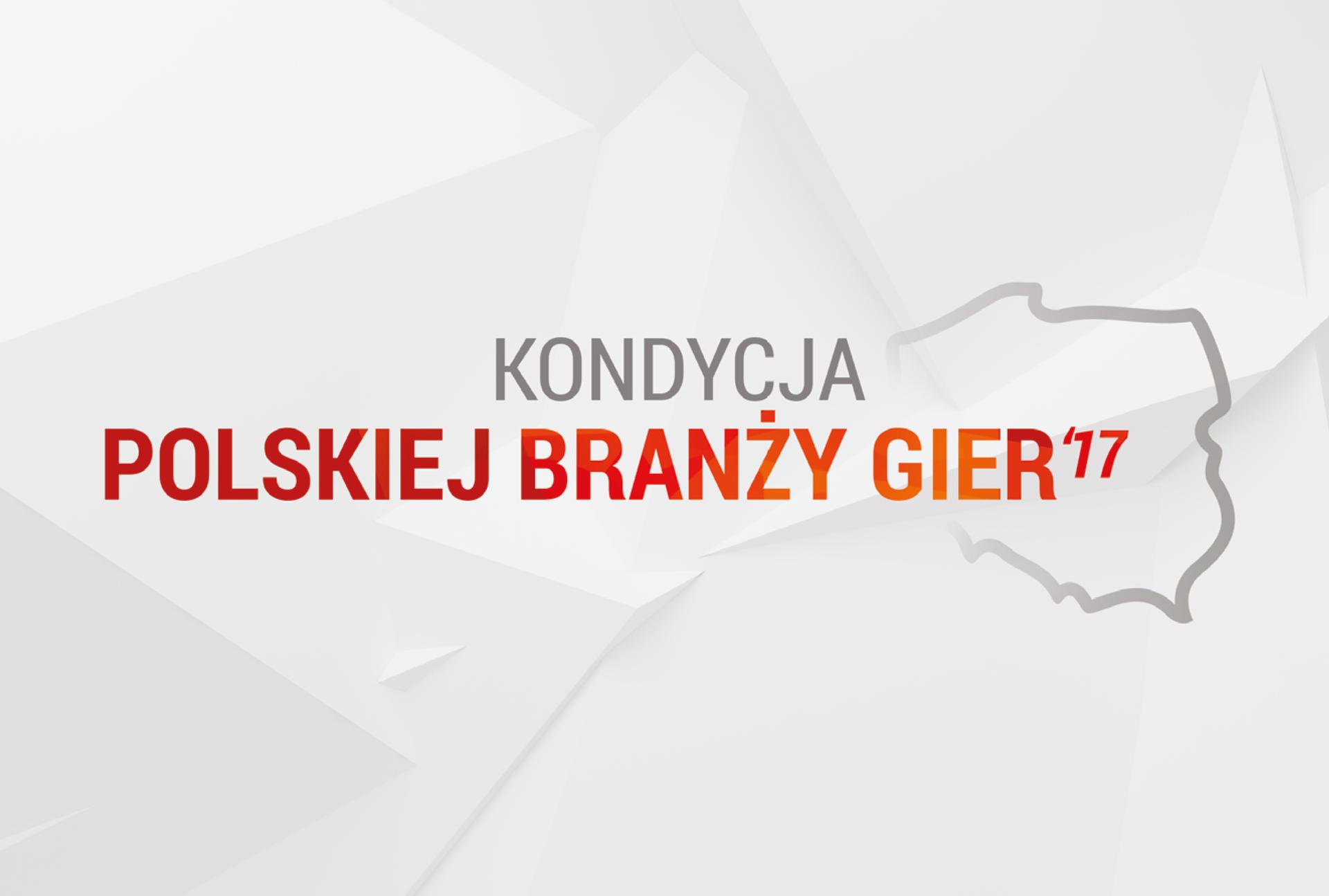"""Badania """"Kondycja Polskiej Branży Gier'17"""" są już dostępne"""