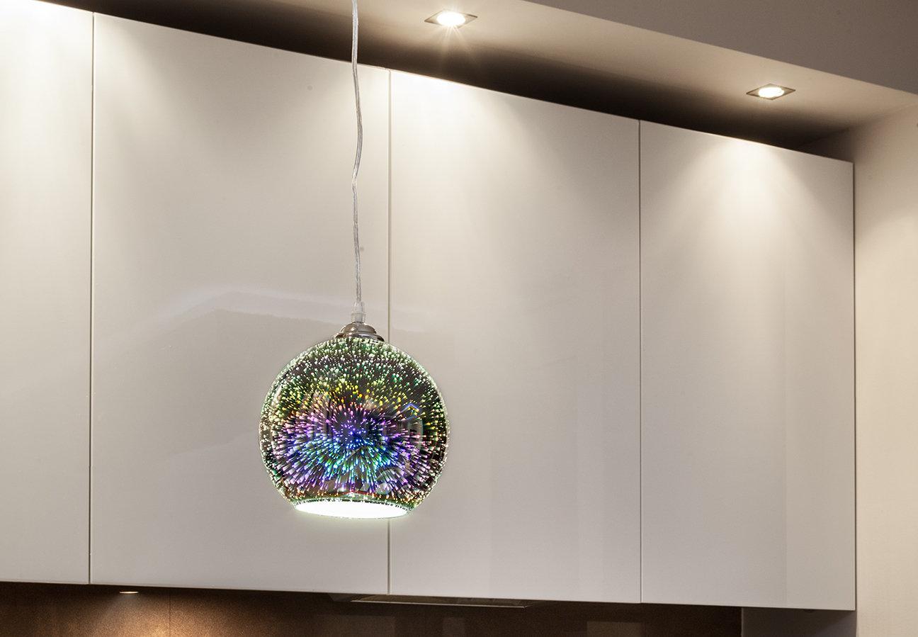Jak odmienić wnętrze poprzez dodatki - lampy 3D