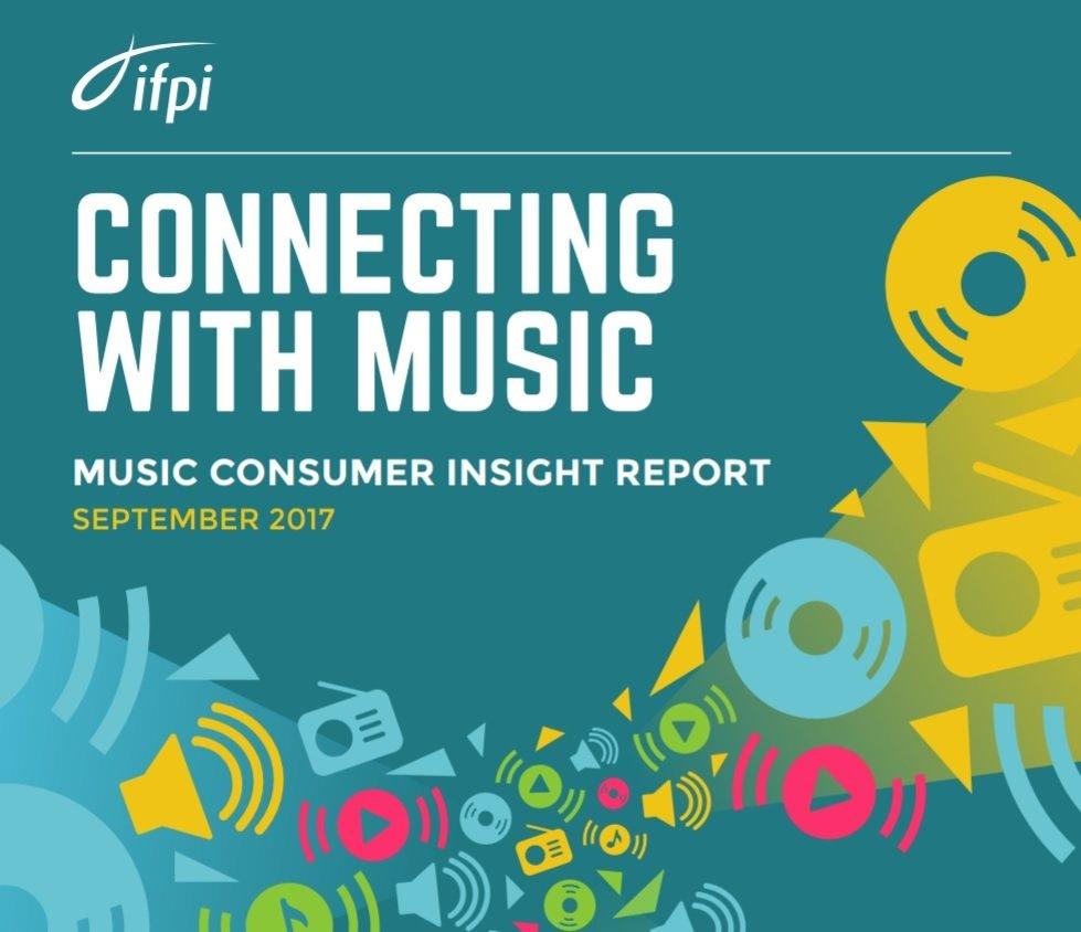 IFPI publikuje raport na temat zachowań konsumenckich na rynku muzycznym w 2017 roku