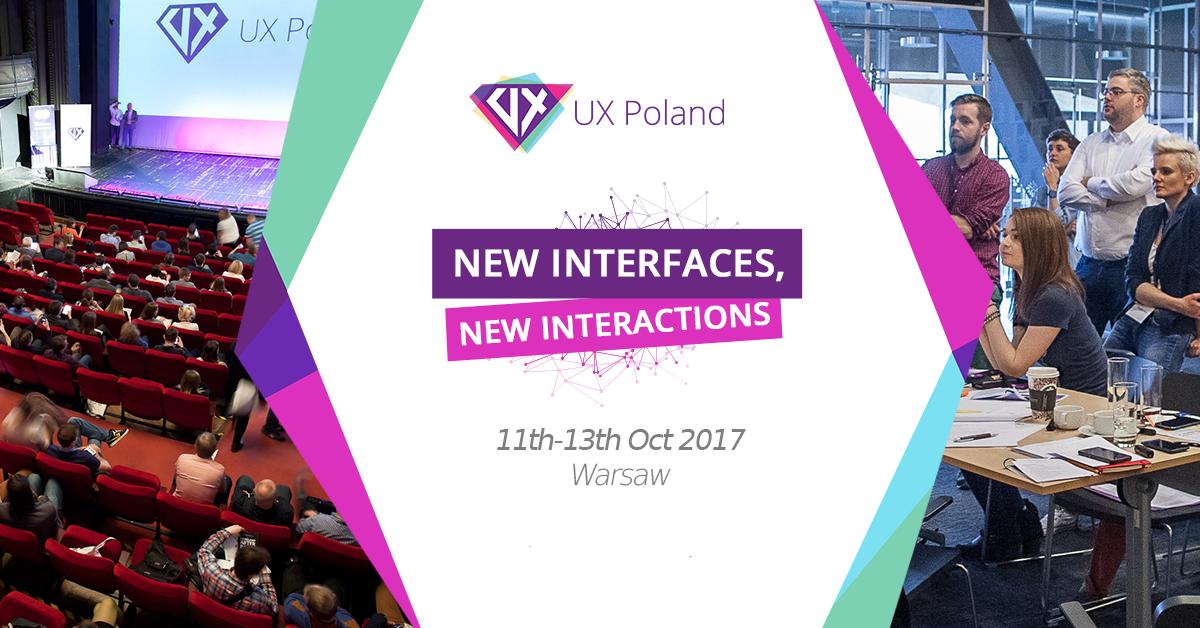 UX Poland – konferencja nie tylko dla designerów
