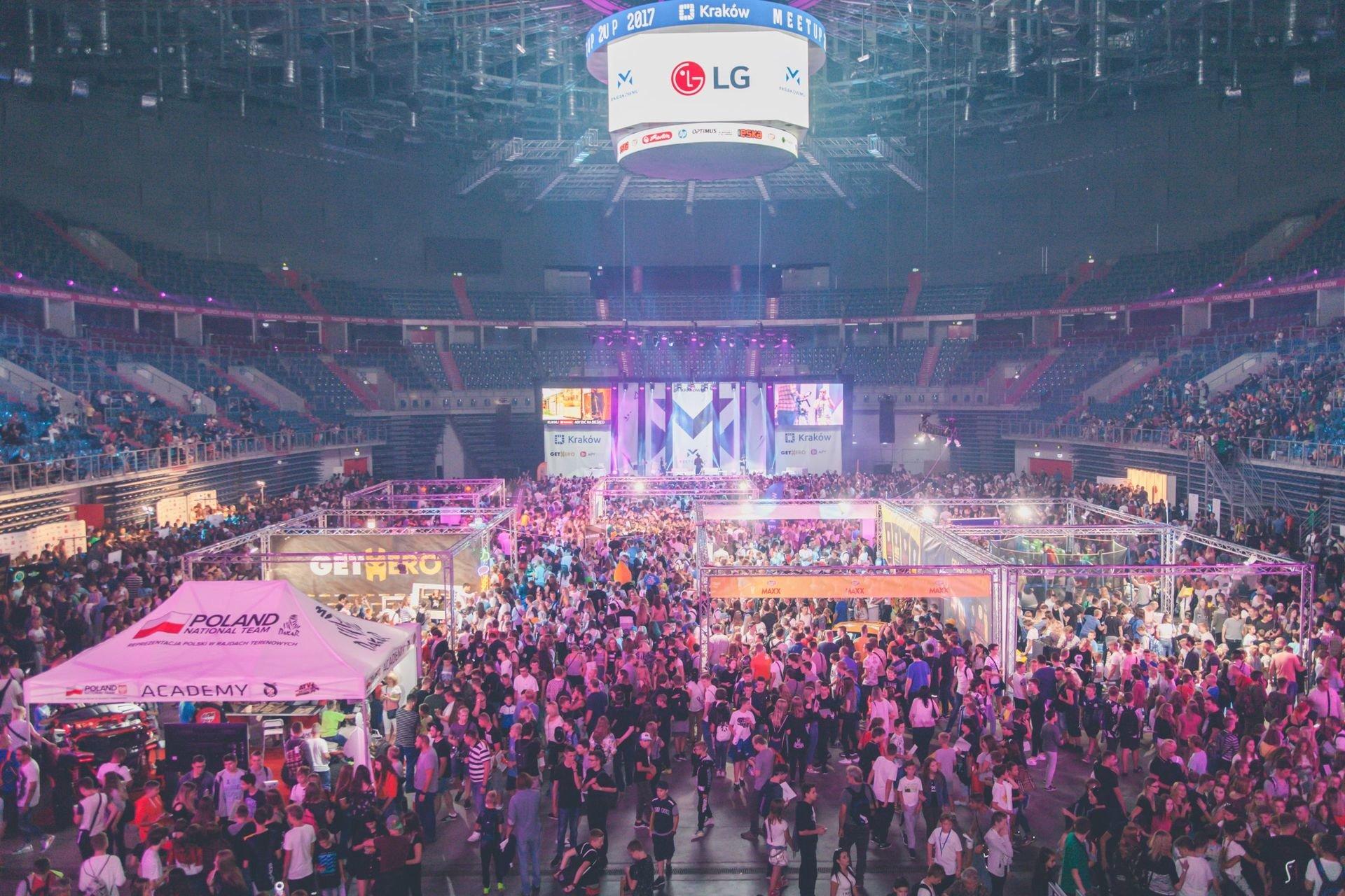 Największe w Polsce spotkanie YouTuberów z fanami - podsumowanie
