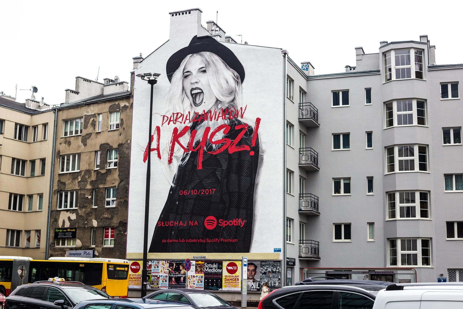 Daria Zawiałow kolejną artystką na muralu Spotify