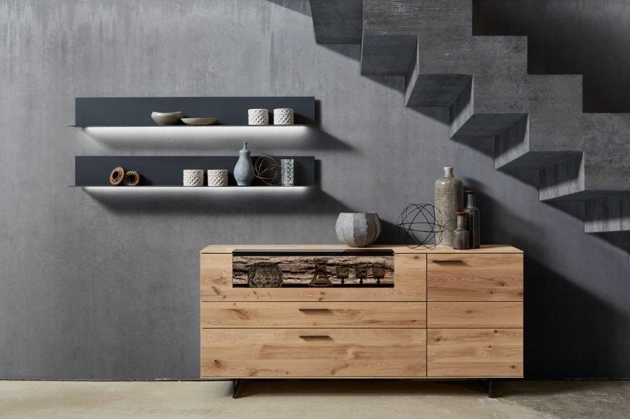 Drewno i szary - stylowe połączenie do Twojego wnętrza