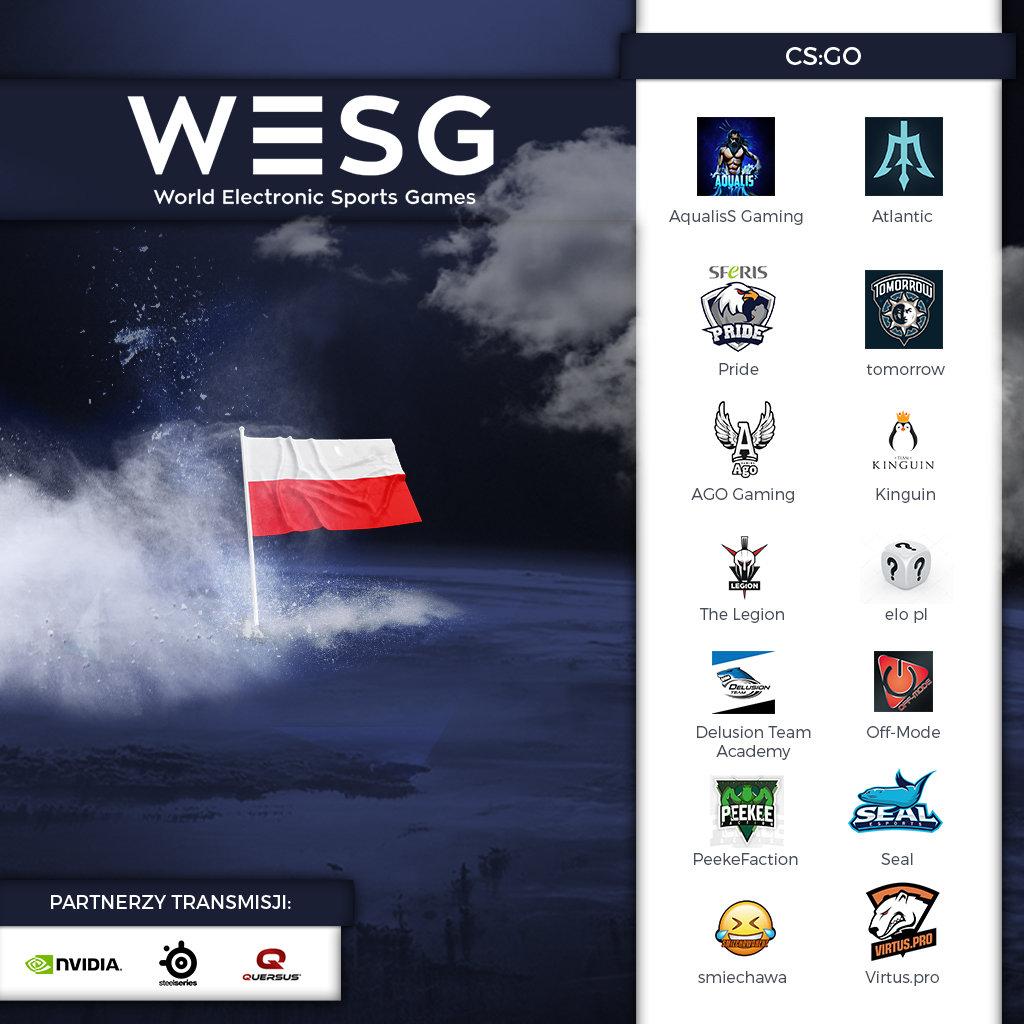 Ruszyły polskie kwalifikacje do igrzysk esportowych WESG i są już duże niespodzianki!