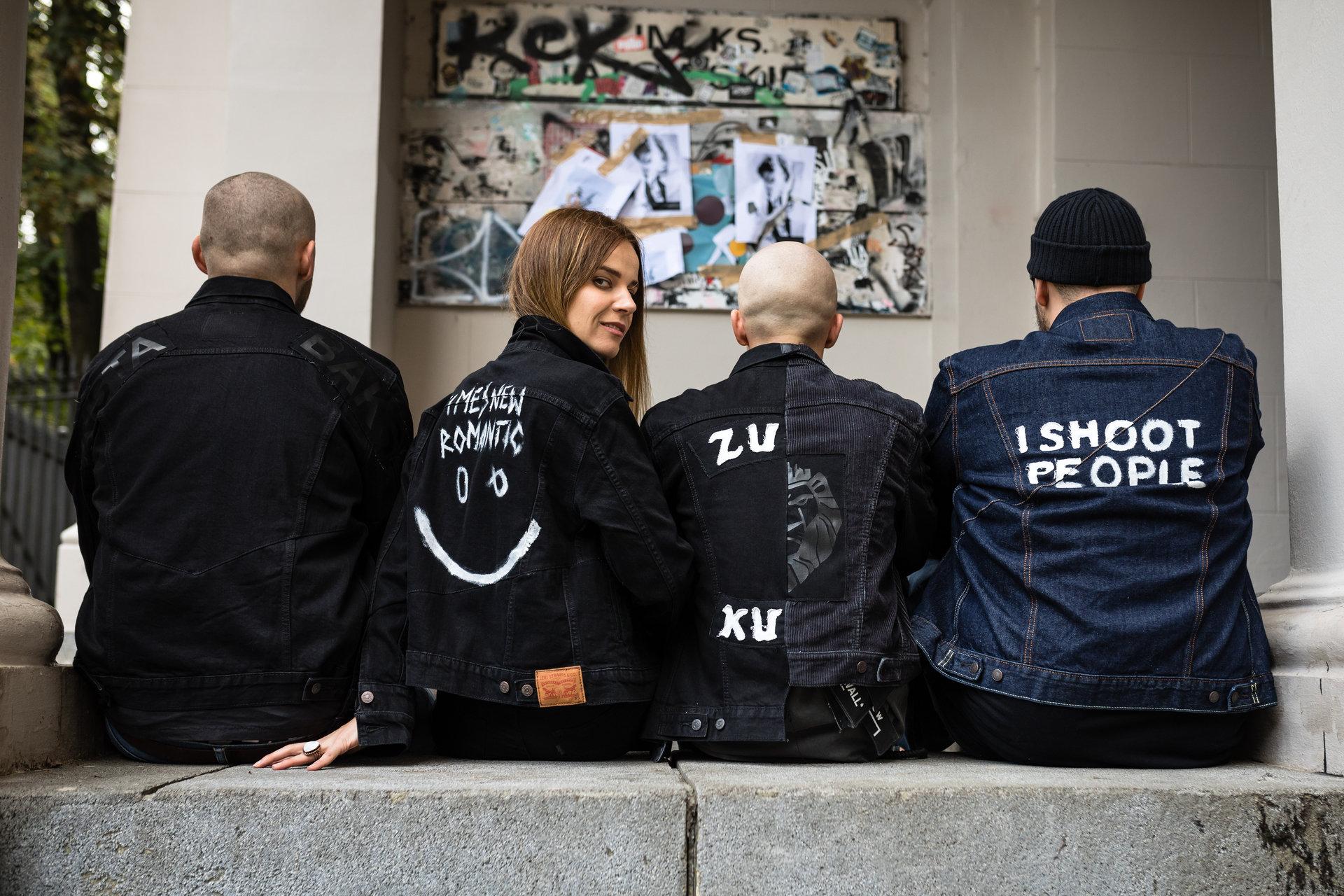 Wyjątkowy squad z Polski na 50 urodzinach Levi's Trucker Jacket w Berlinie.