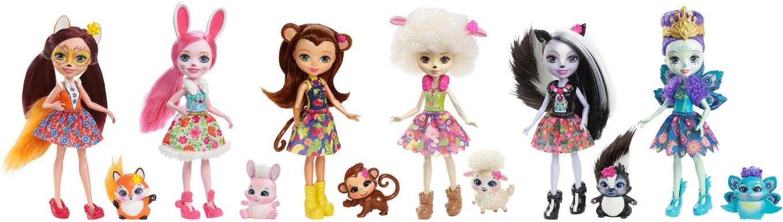 Enchantimals – nowe laleczki od firmy Mattel