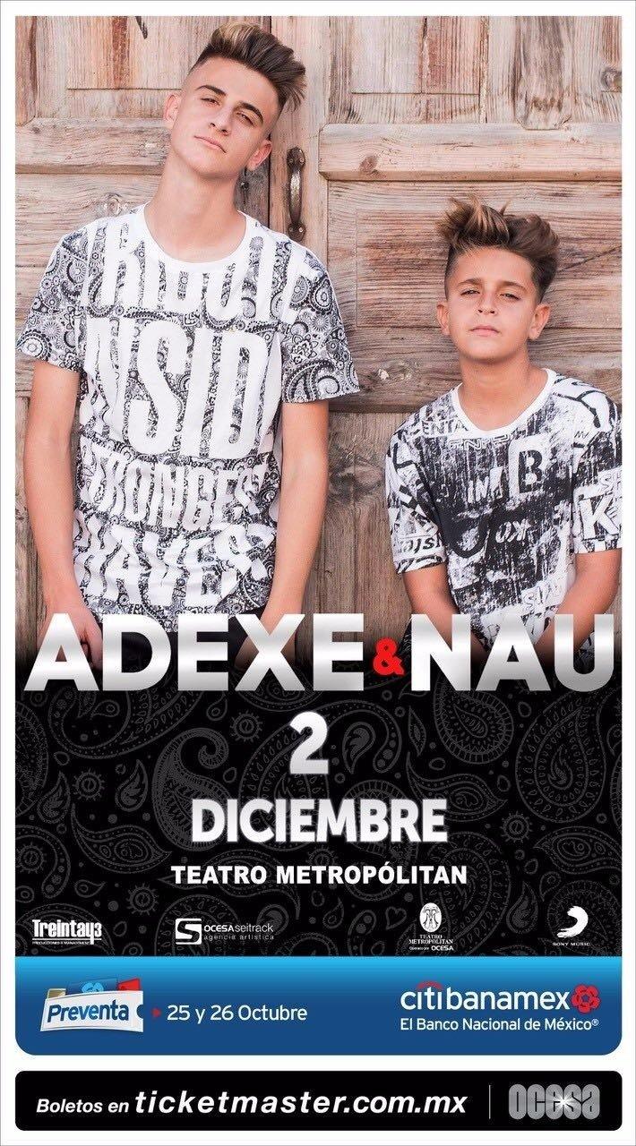 ¡ADEXE & NAU LLEGAN A MÉXICO!