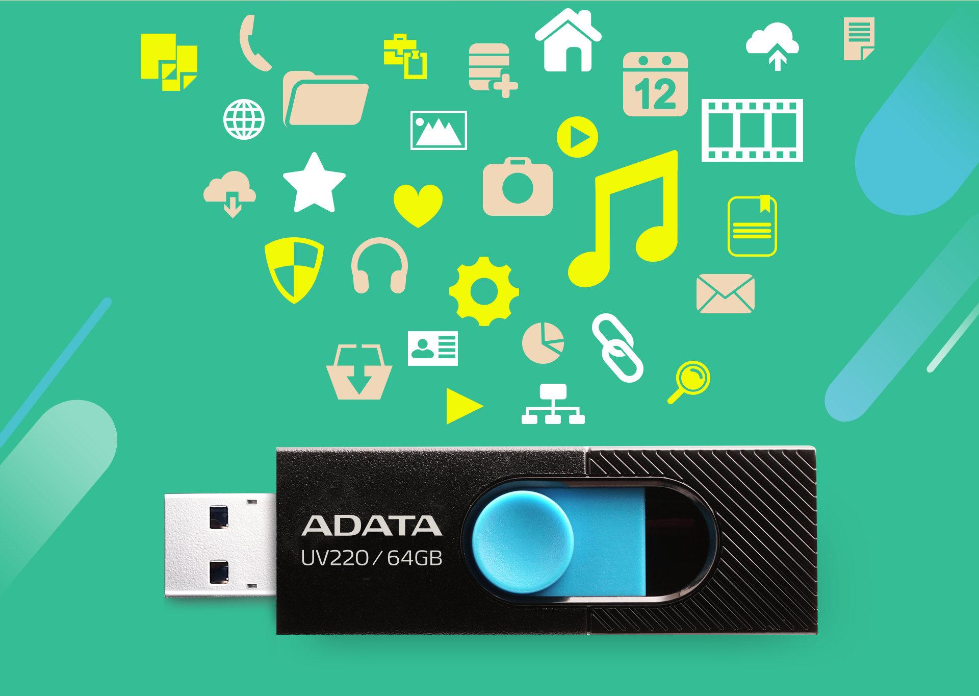 UV220 i UV320 - nowe pamięci flash od ADATA