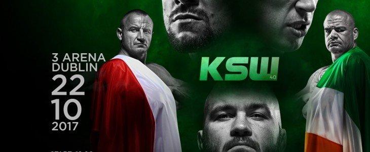 Gala KSW 40 w Dublinie będzie dostępna w UPC
