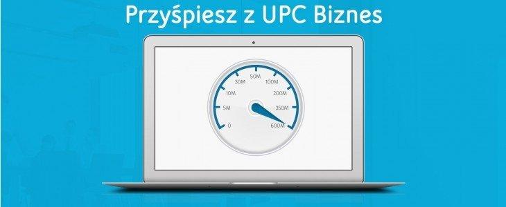 600/60 mb/s – Nowa oferta dla firm od UPC Biznes  z podwójną prędkością wysyłania danych.
