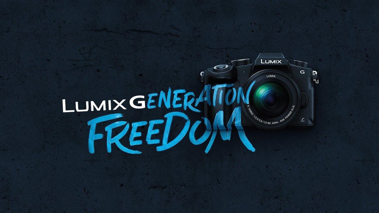 Lumix Generation Freedom - Panasonic wspiera reklamowo markę Lumix G