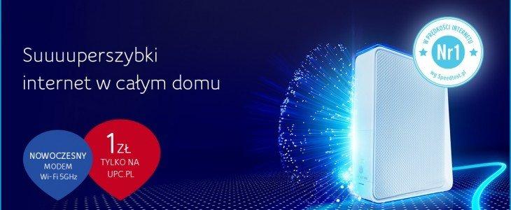 UPC Polska wprowadza ofertę z superszybkim modemem Wi-Fi