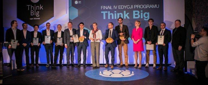 CallPage zwycięzcą 4. edycji programu Think Big dla przedsiębiorców, prowadzonego przez UPC Biznes