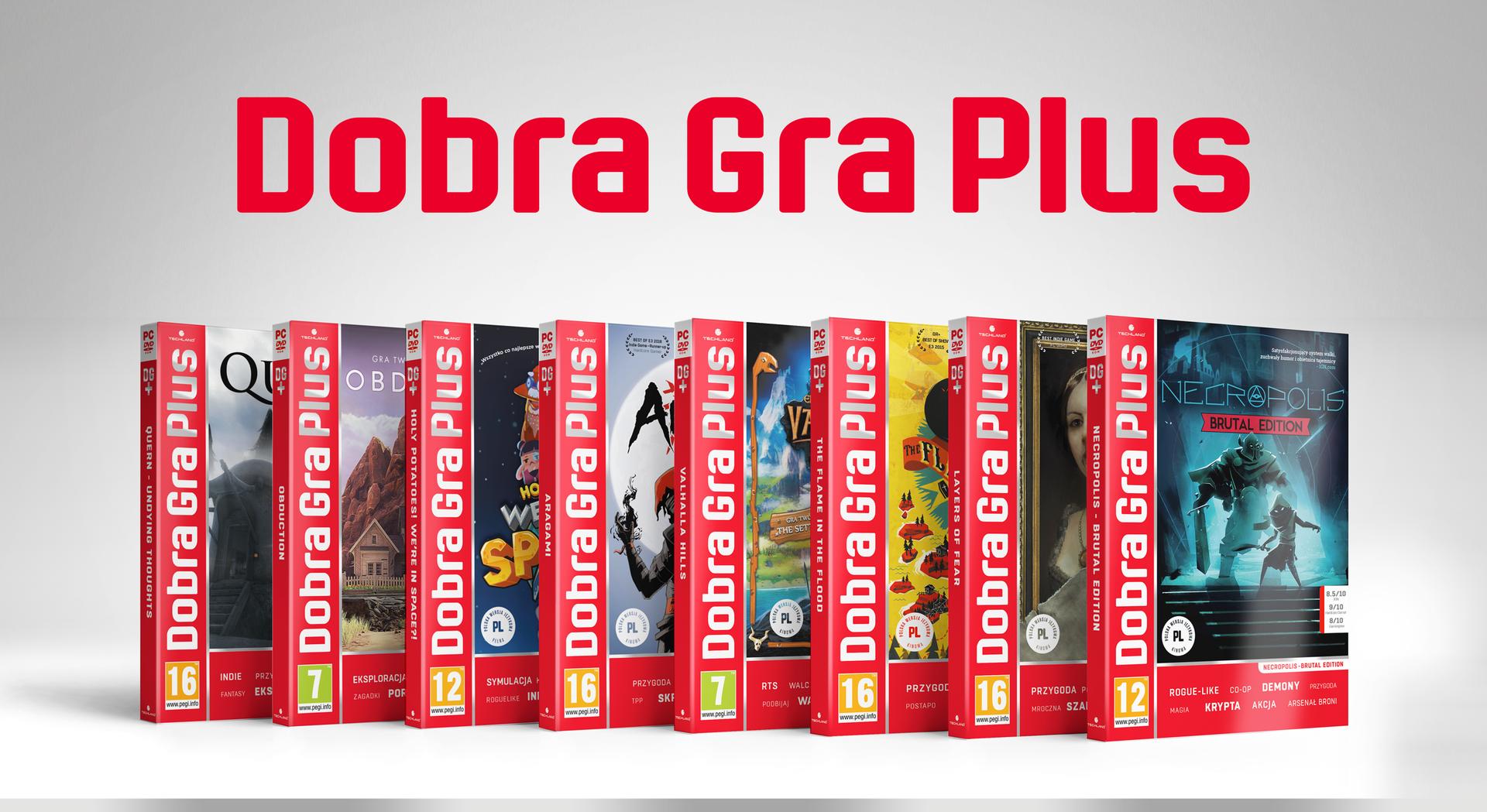 Uznane gry w dobrej cenie - od dziś dostępne w serii Dobra Gra Plus