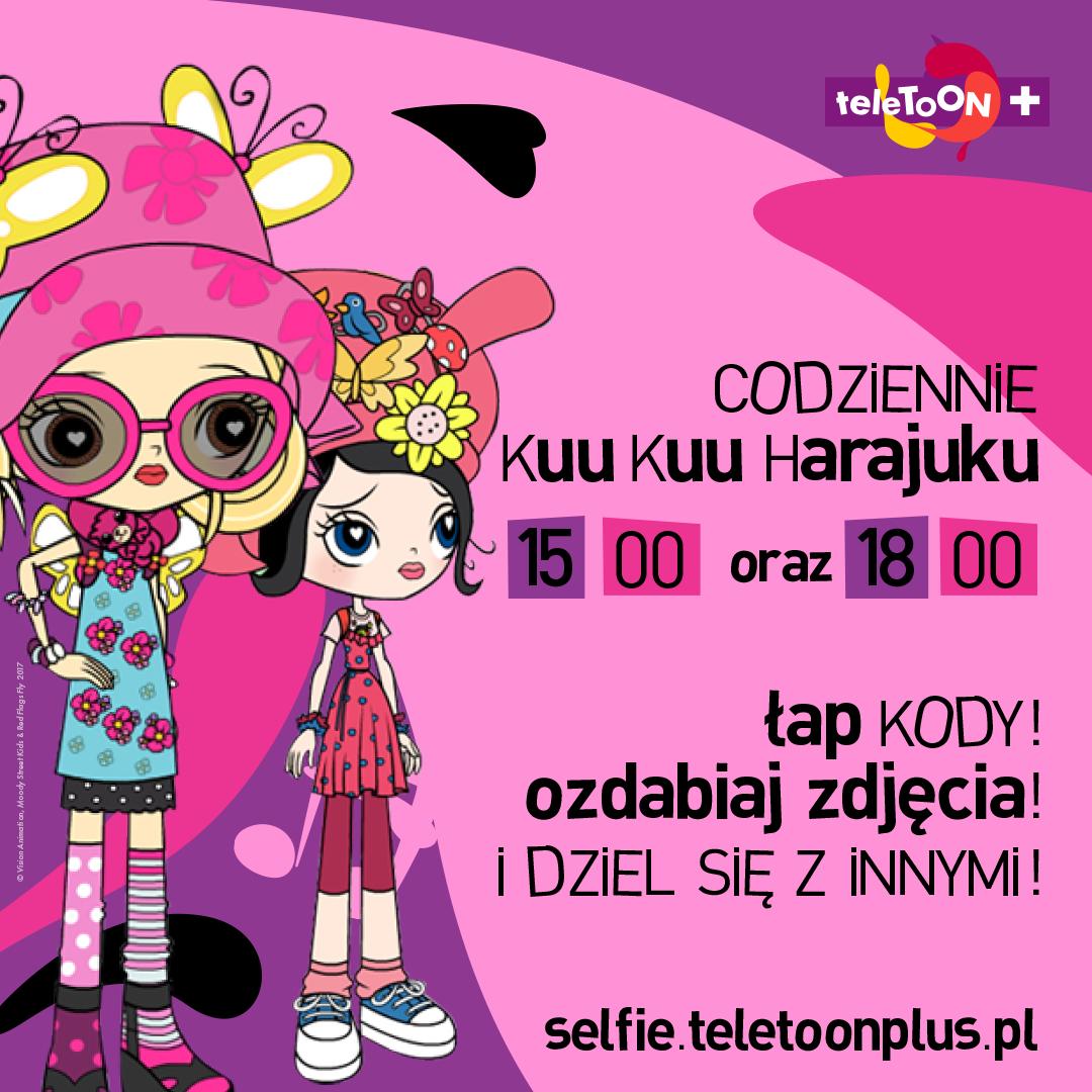 """""""Łap kody, ozdabiaj zdjęcia i dziel się z innymi!"""" – rusza nowa kampania teleTOON+"""