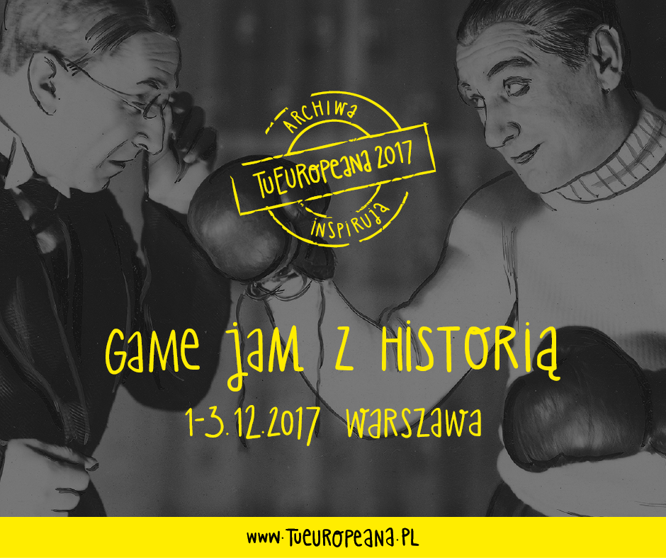 Wspieramy Game Jam z Historią