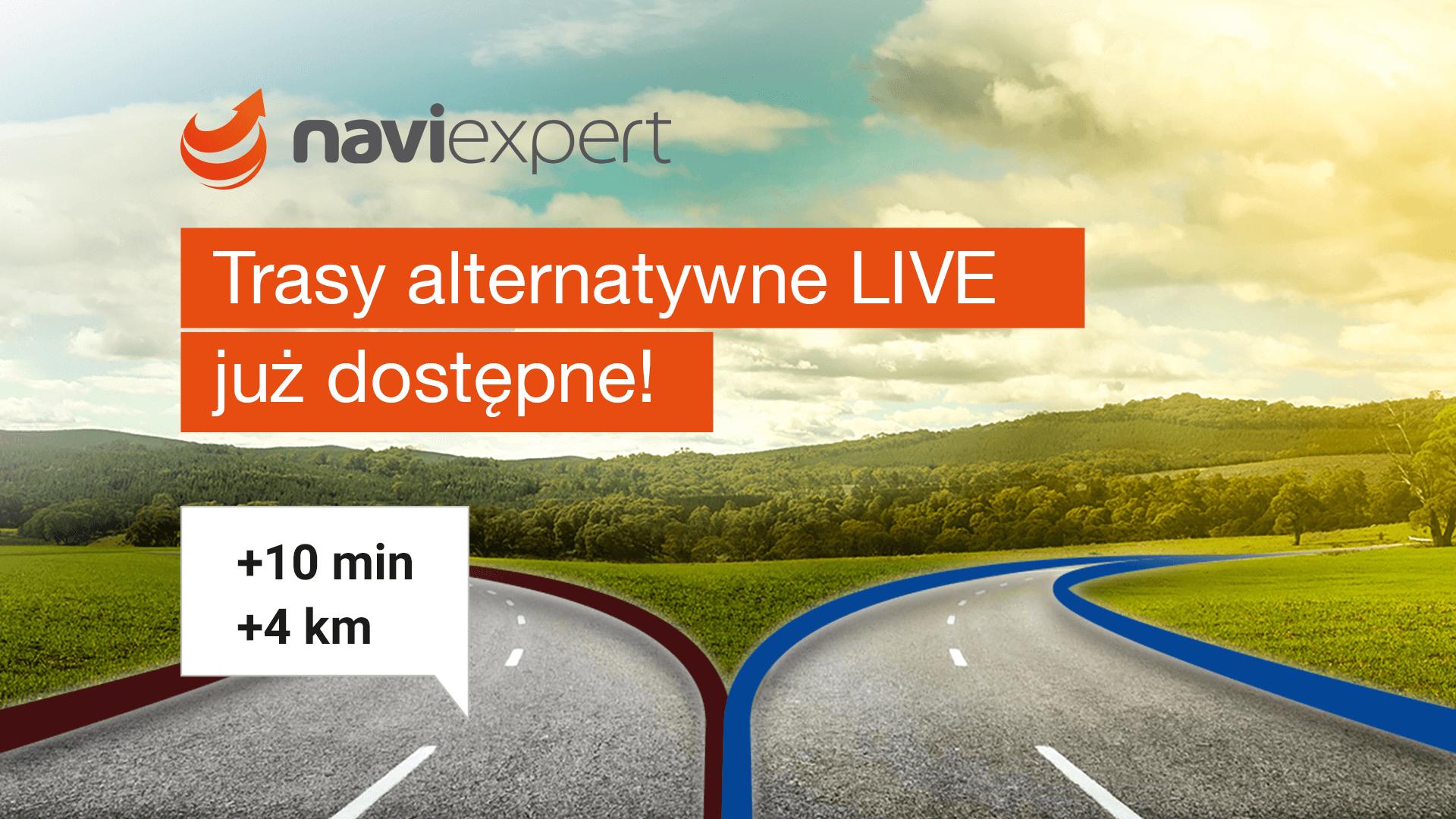 Użytkownik wie lepiej – czyli NaviExpert 11.0 z trasami alternatywnymi LIVE