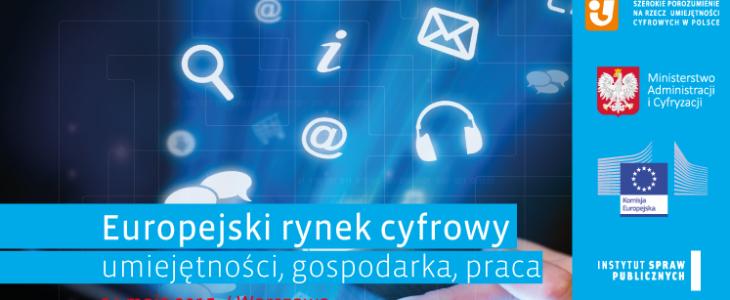 Nowa odsłona Koalicji Dojrz@łość w sieci podczas Konferencji Europejski Rynek Cyfrowy