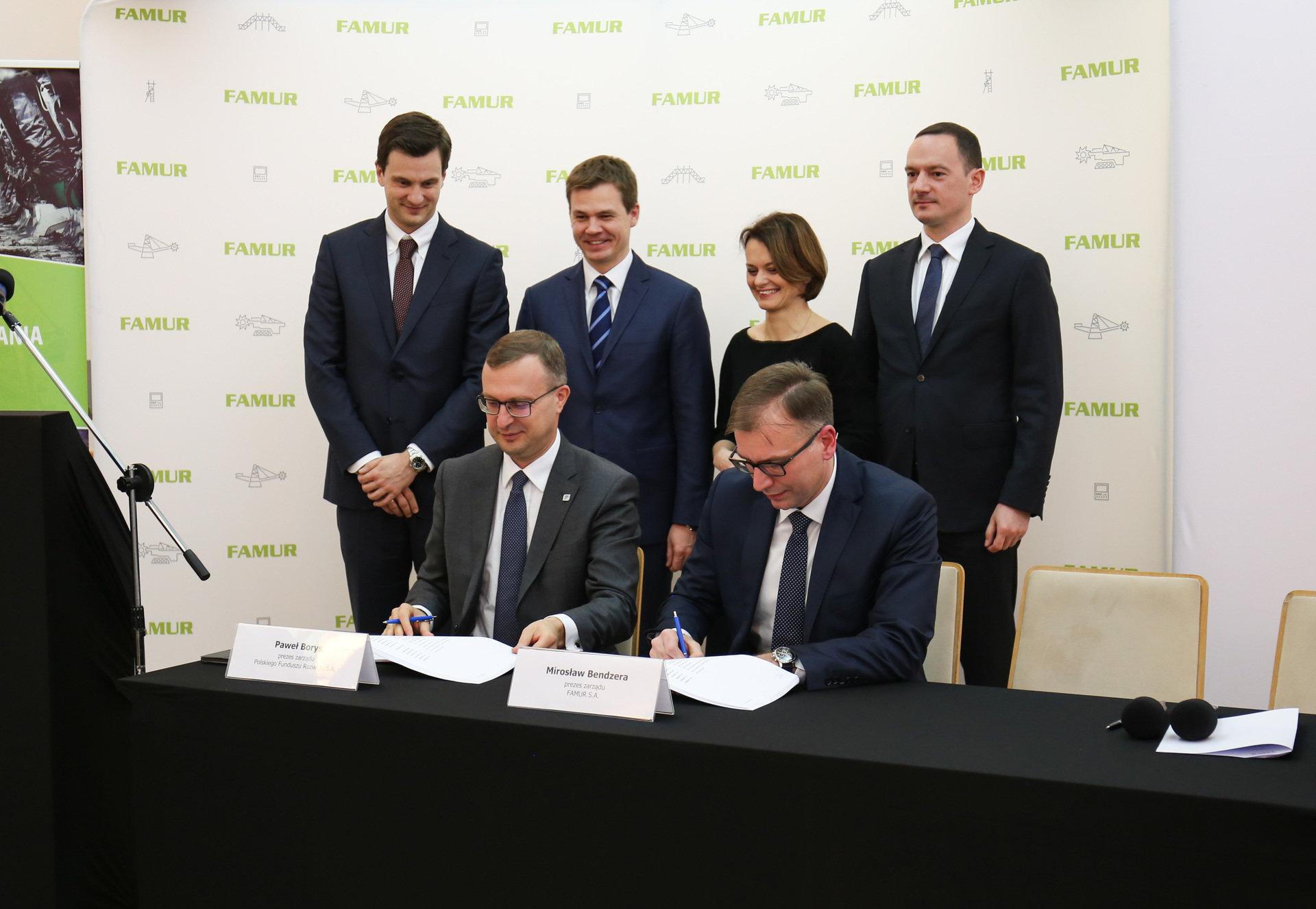 FAMUR S.A. oraz Polski Fundusz Rozwoju rozpoczynają współpracę na rzecz modernizacji polskiej branży wydobywczej