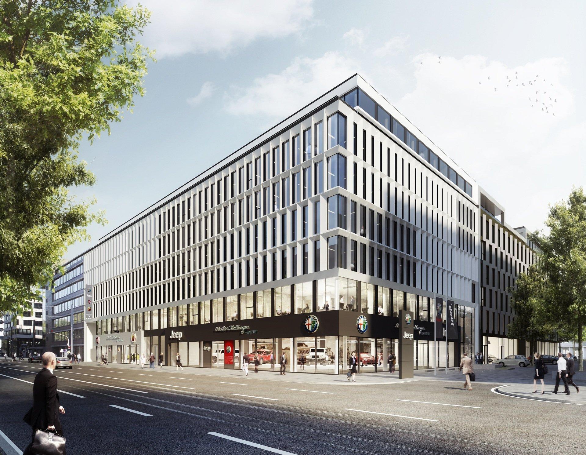 BNP Paribas REIM ogłasza nabycie frankfurckiej siedziby Fiata na rzecz funduszu NEIF II