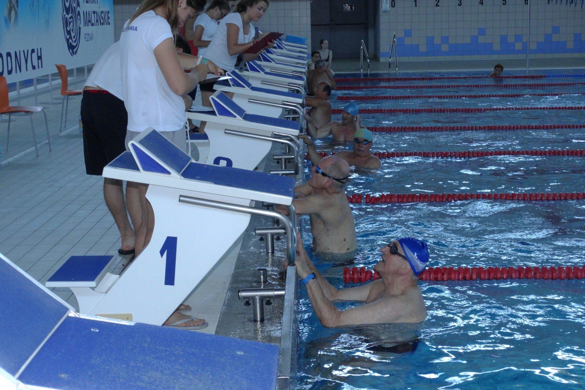 Seniorzy będą mieli swoje igrzyska w pływaniu