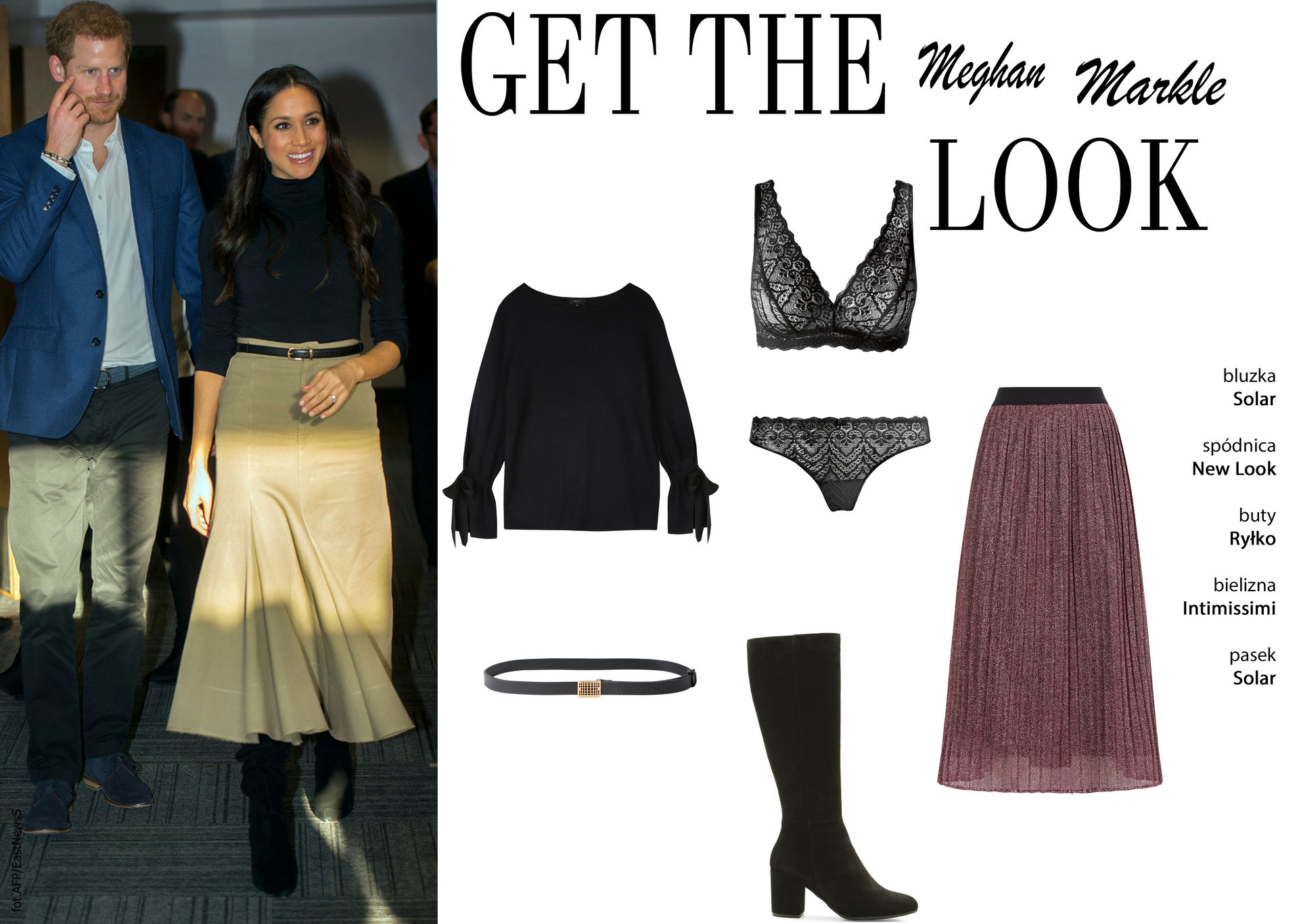 Get the Look- Meghan Markle