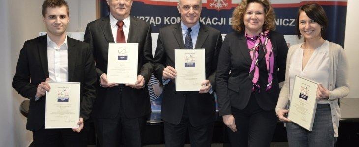 Certyfikat Bezpiecznego Internetu UKE dla UPC Polska