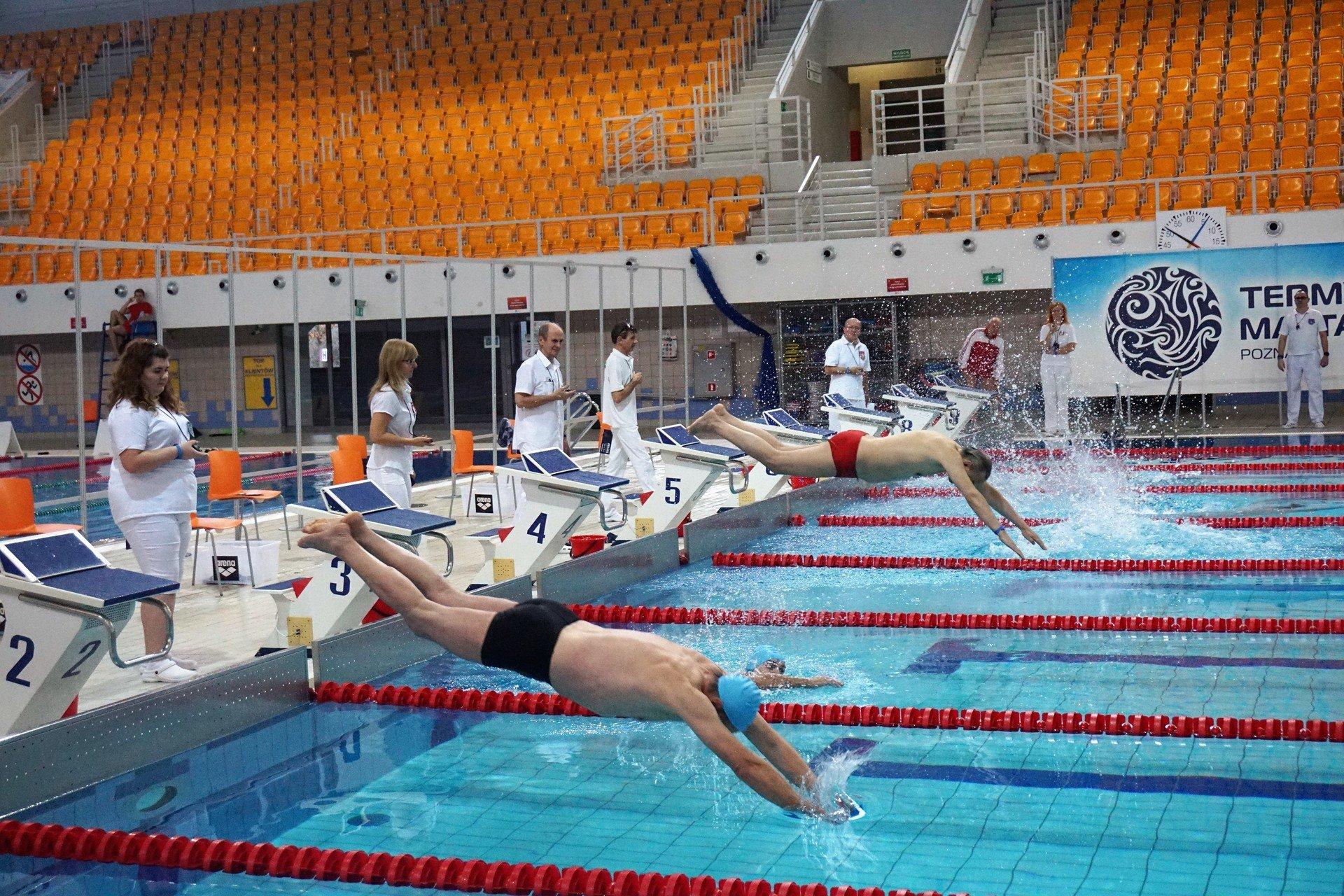 Wyniki pływackich Mistrzostw Poznania Seniorów