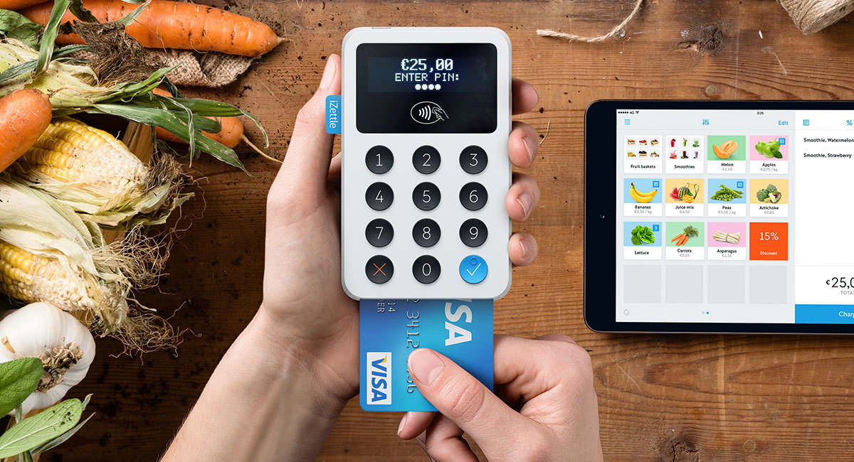 Commerce platform iZettle (MCI.TechVentures) raises $47M at a $950M valuation