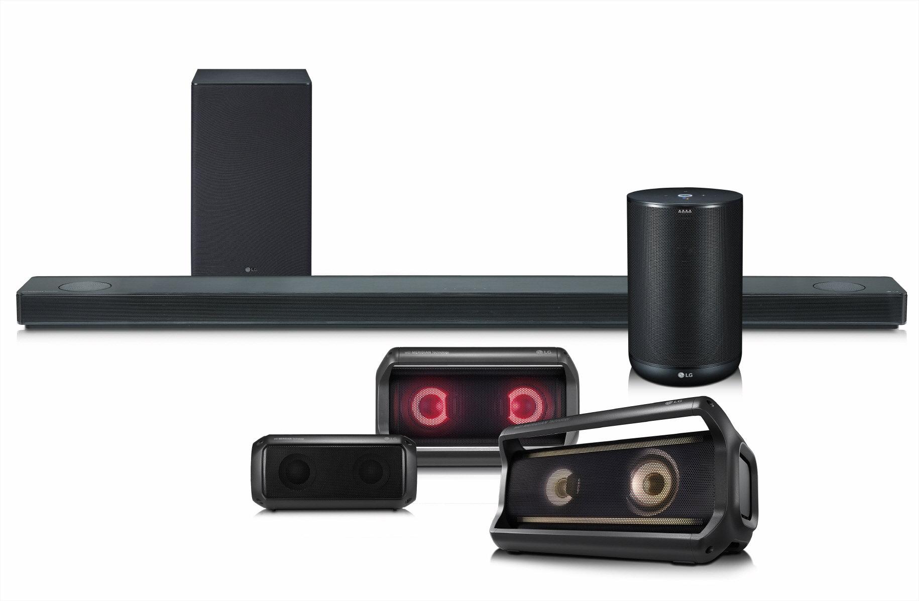 Znakomity dźwięk, intuicyjność oraz inteligentne rozwiązania – nowa linia głośników LG na rok 2018