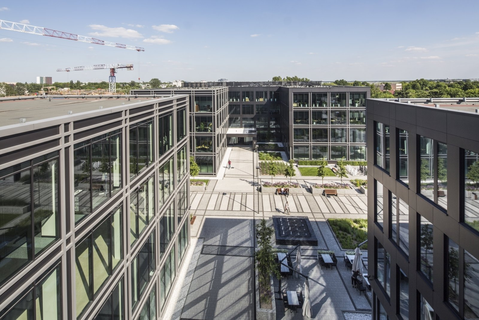 Asstra Polska expands in The Park Warsaw office building
