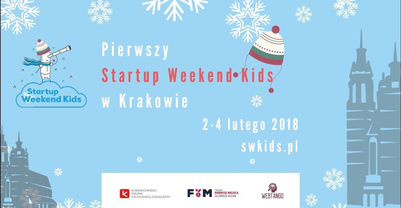 Pierwszy Startup Weekend Kids w Krakowie już w lutym