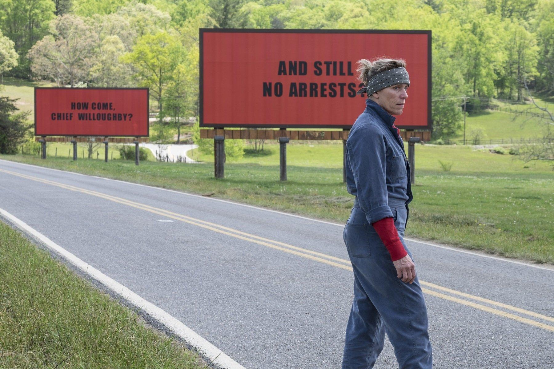 """""""Trzy billboardy za Ebbing, Missouri"""" w lutym na ekranach kin"""