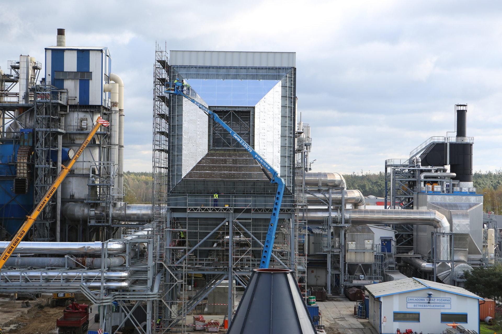 Modernizacja zakładu Kronospan zakończy się w tym roku