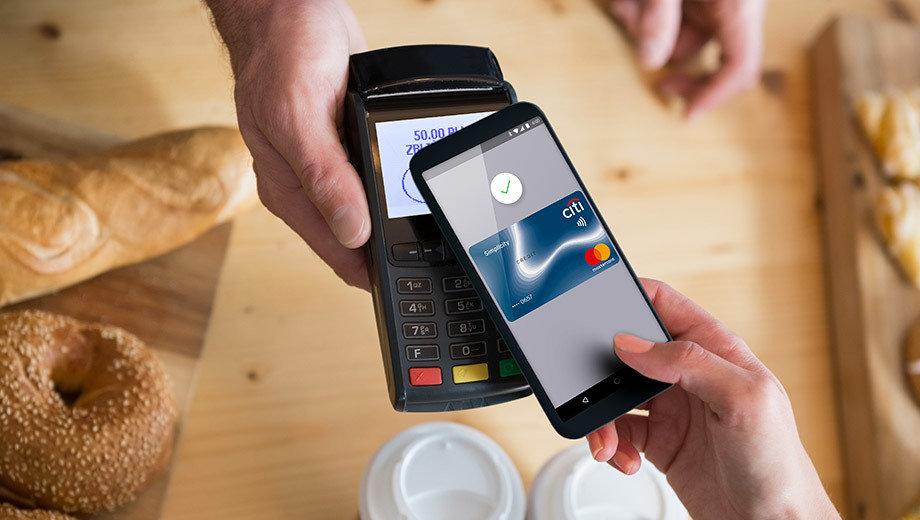 Klienci Citi Handlowy mogą płacić GOOGLE PAY™